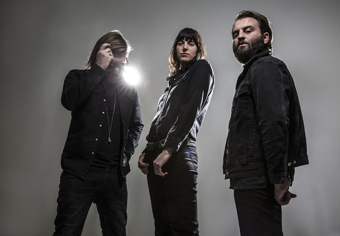Band of Skulls (from l.) Russell Marsden, Emma Richardson and Matt Hayward. Photo: Andy Cotterill