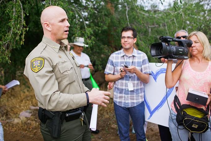 Pinal County Sheriff Paul Babeu, has been hammered throughout the campaign in Congressional District 1 for his history as a headmaster at a Massachusetts school for troubled youth some 16 years ago.