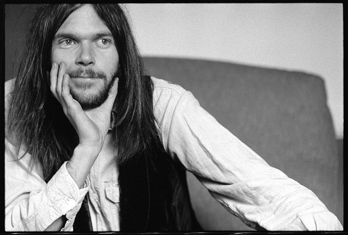 Neil Young back in the day.