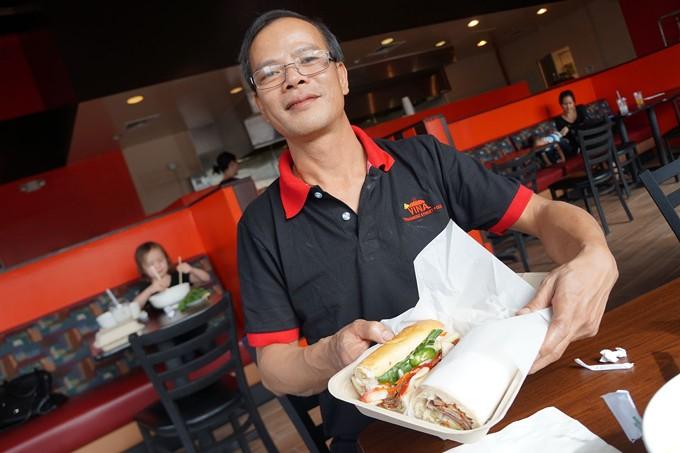 Vina Vietnamese Street Food owner Linh Nguen.