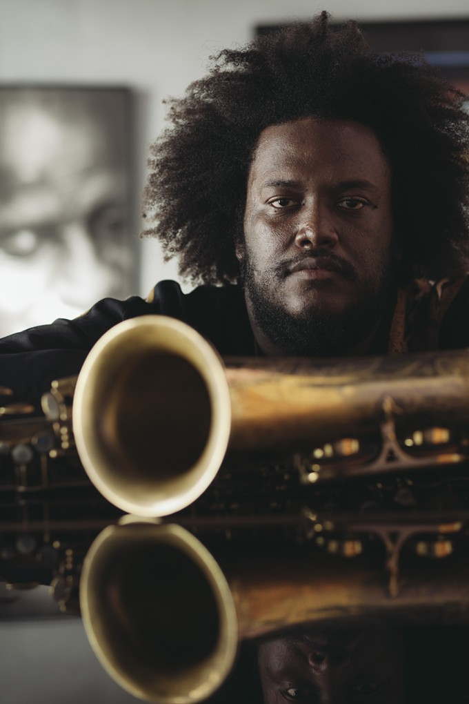 Kamasi Washington rules the sax.