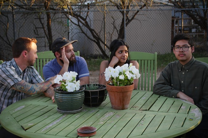 Lowlife (from left): Sean Terry, Jonathan Malfabon, Nirantha Balagopal and Daniel Ramirez.