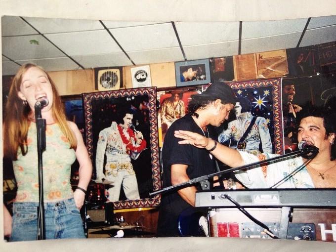 Olivia Reardon with Gunners Slash and Teddy Andreadis.
