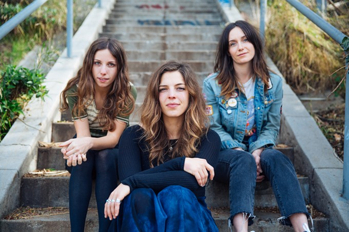 The Wild Reeds (from left): Sharon Silva, Kinsey Lee and Mackenzie Howe.