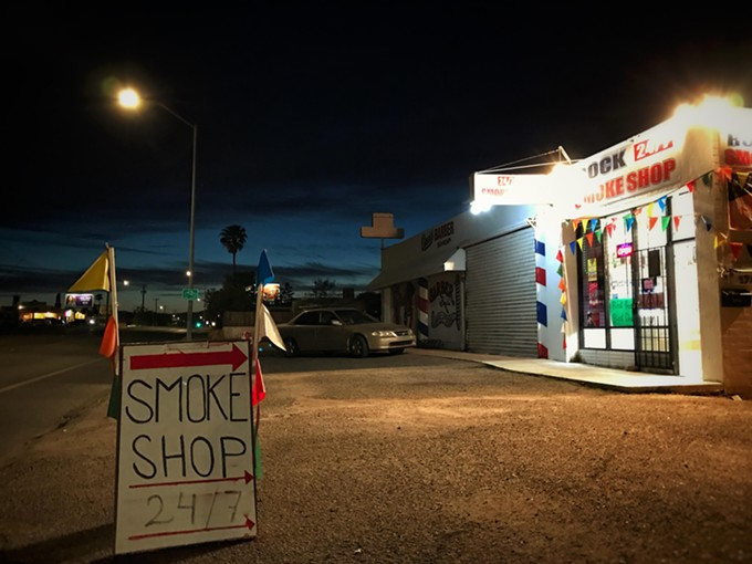 Rock Smoke Shop, 24/7.
