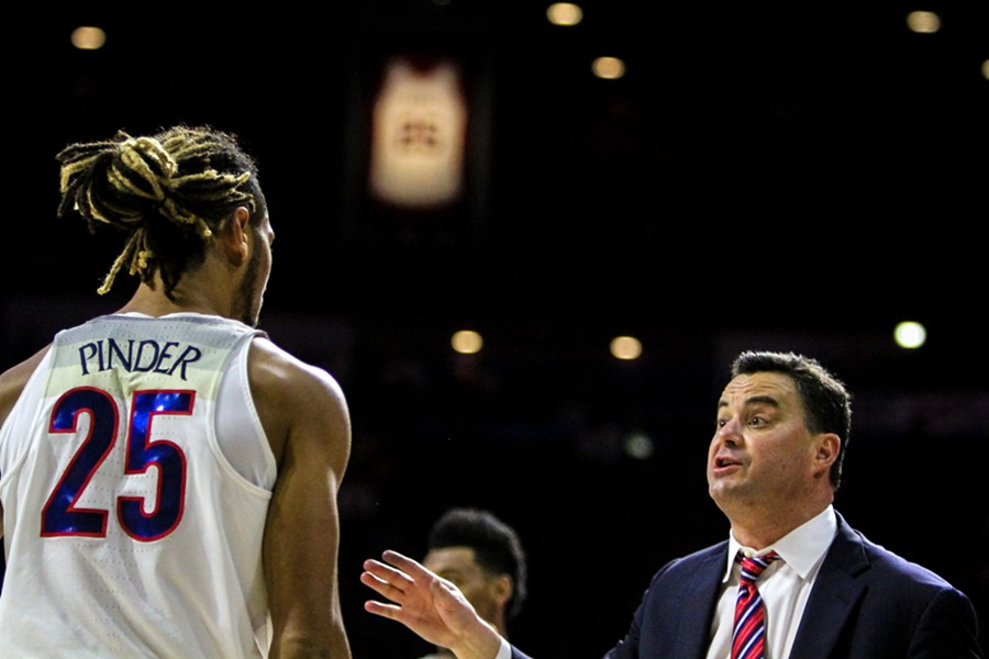 Sean Miller faces new allegations. - LOGAN BURTCH-BUUS | TUCSON LOCAL MEDIA