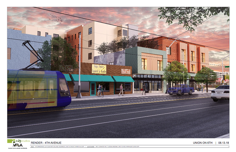 A mock-up of Union on 6th. - COURTESY ILLUSTRATION