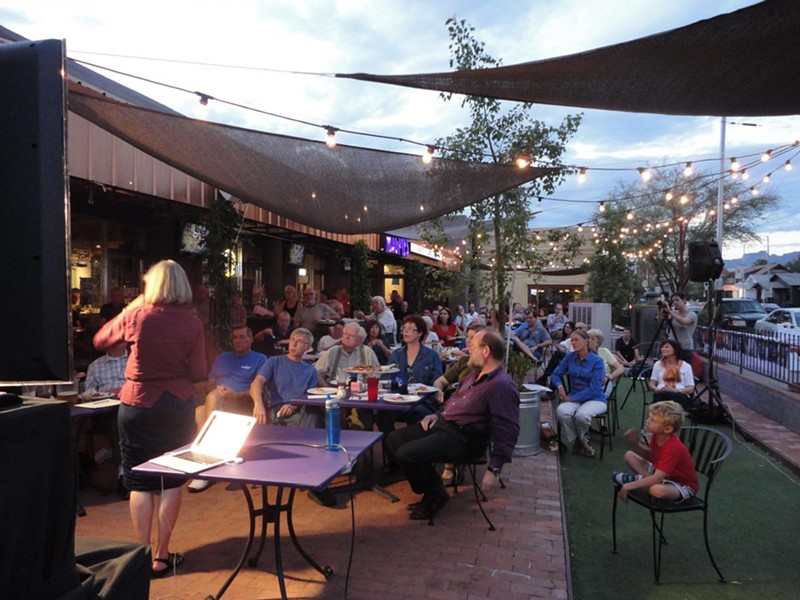 UA College of Science will host UA Science Café at Magpies Gourmet Pizza  'The Race for Ground Water – A Shrinking Resource' on Tuesday, Oct. 16 at 6 p.m. Science Cafés bring the community together to talk about science in a casual setting. - UA SCIENCE AT THE UNIVERSITY OF ARIZONA