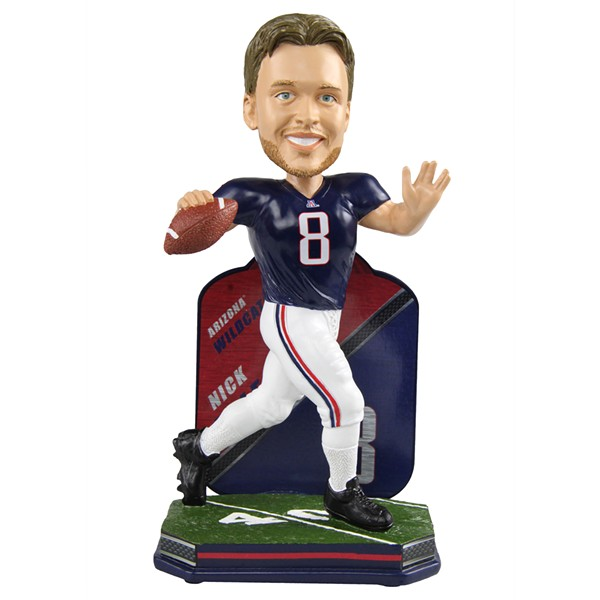 Limited edition Nick Foles bobblehead - BOBBLEHEAD HALL OF FAME AND MUSEUM