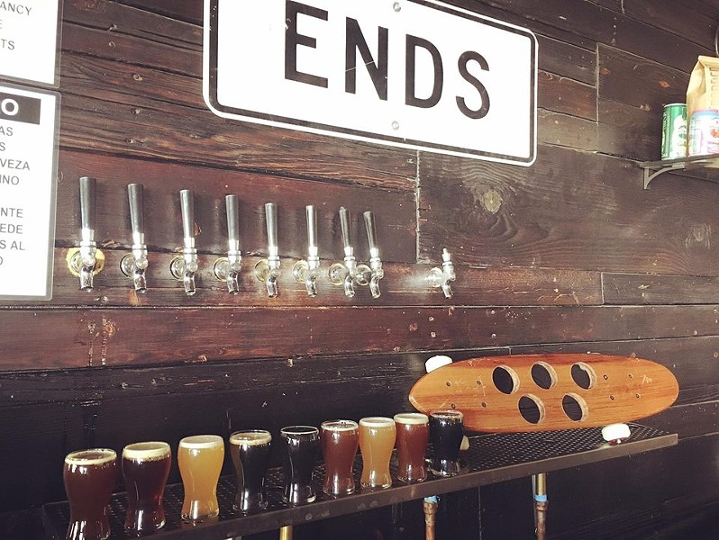 With nine beers on tap, Crooked Tooth Brewing Co. is bound to have something suitable for any beer lover. - COURTESY PHOTO