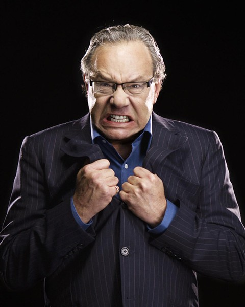 Lewis Black rants incidentally in the CATcomedy520 LOL Crawl Jan. 27 through Feb. 2. - LEWIS BLACK