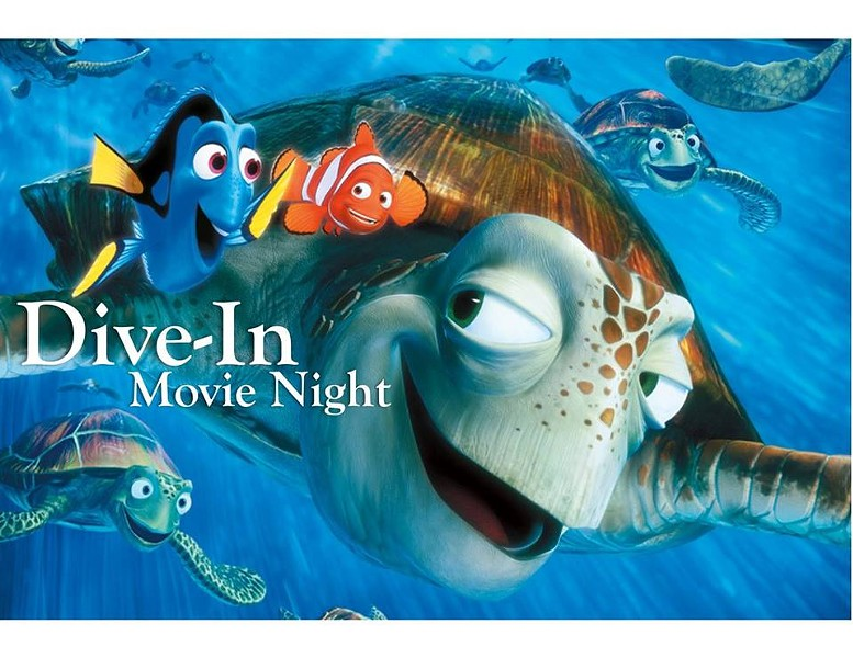 COURTESY OF DIVE-IN MOVIE NIGHT: FINDING NEMO FACEBOOK EVENT PAGE
