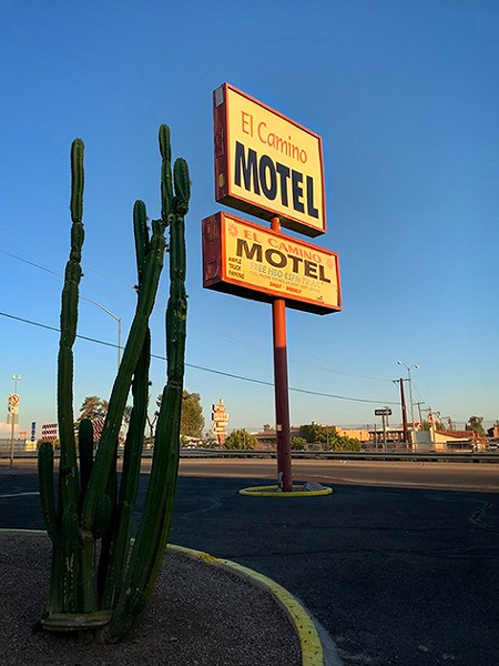 """The El Camino Hotel was once hailed as """"the gateway to East Tucson."""" - BRIAN SMITH"""