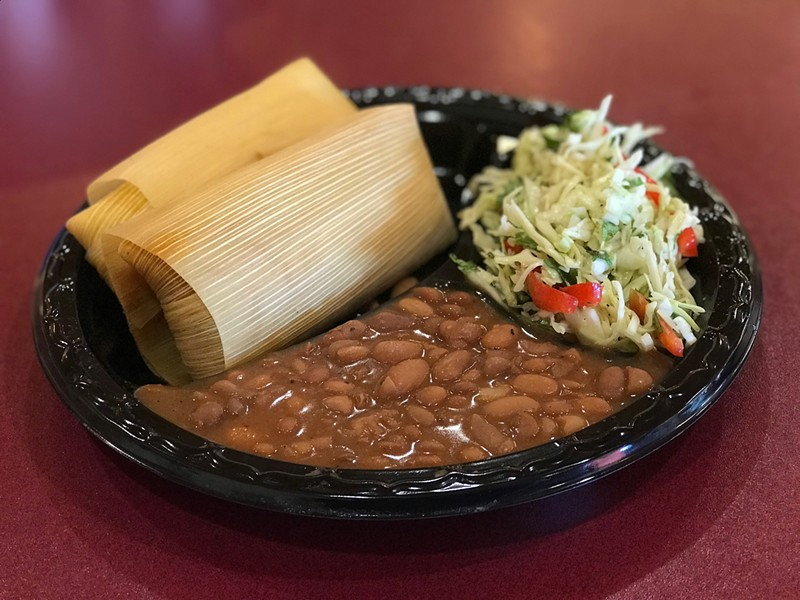 Tucson Tamale Company has already closed its dining room but is offering to-go service.