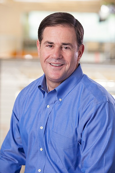 """Gov. Doug Ducey: """"Nobody should be forced out of their home because of COVID-19."""" - COURTESY"""