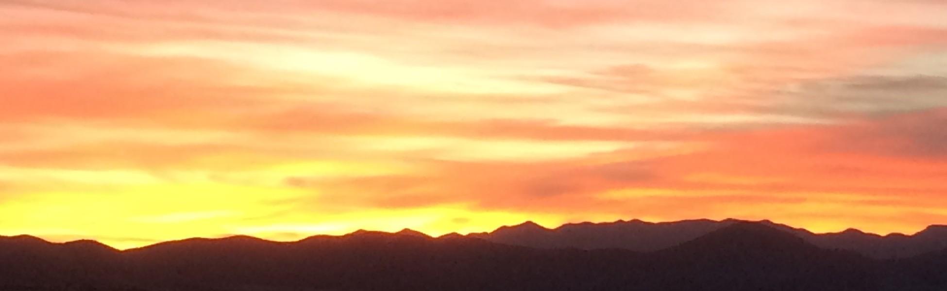 San Rafael Valley sunset - JONATHAN HOFFMAN
