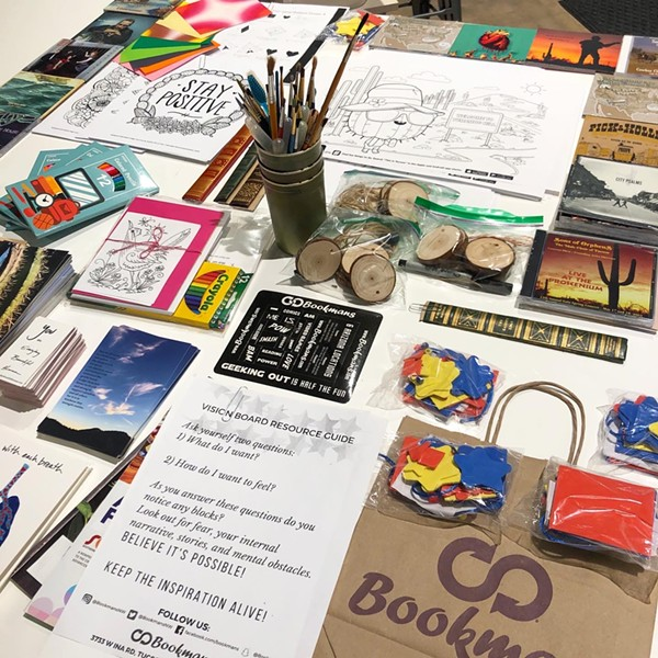 The Southern Arizona Arts and Cultural Alliance worked with community partners to prepare art care packages for individuals living in care homes, assisted living facilities or in hospitals. - COURTESY PHOTO