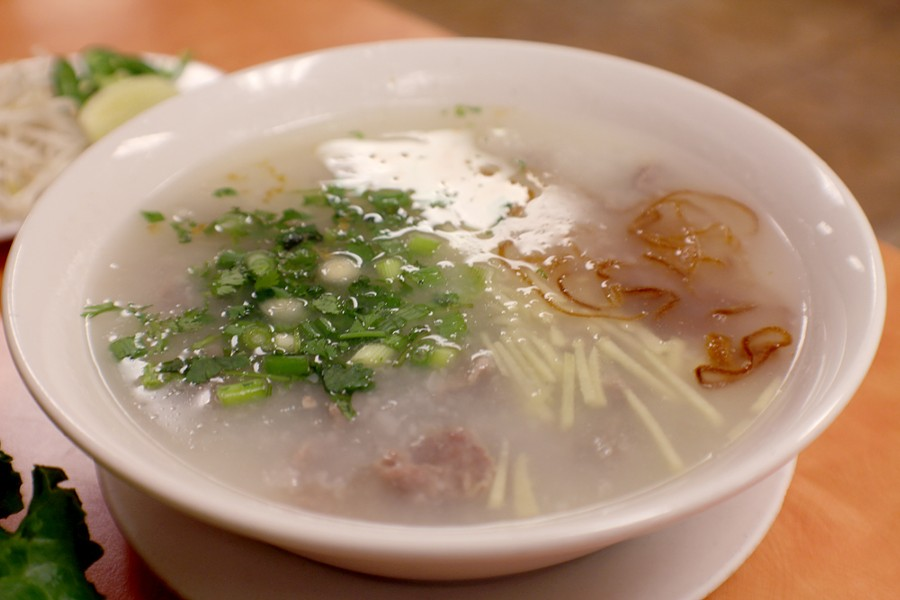 This rice porridge is maybe the most comforting soup you'll ever have. - HEATHER HOCH