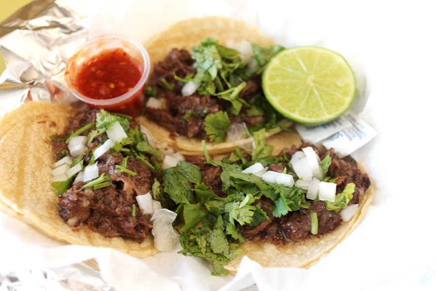 Although Rincon Tarasco isn't a taqueria per se, their tacos are well worth their $1.25 price. - HEATHER HOCH