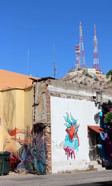 Bright murals line the streets in Hermosillo. - HEATHER HOCH