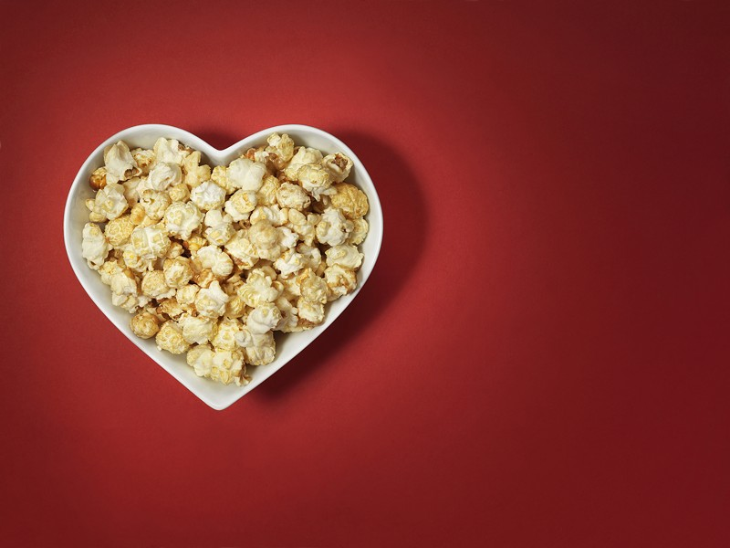 I love popcorn and it's my birthday weekend, so you should celebrate by eating popcorn. - BIGSTOCK
