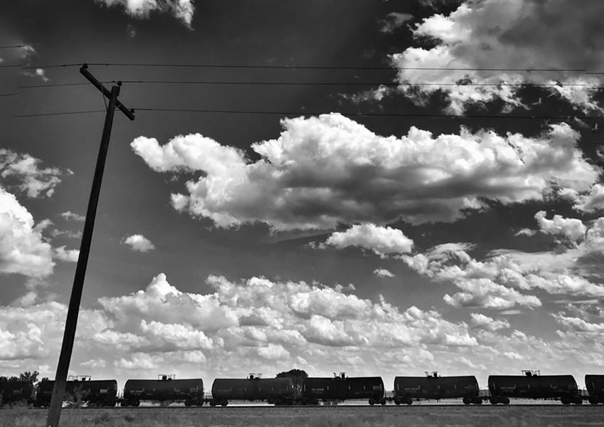 The railroad earth still sends ... - BRIAN SMITH