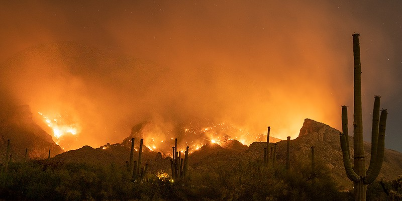 Arizona has been hit with massive wildfires as well.
