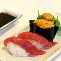 100 Essential Dishes 2016 Uni Nigiri, Yamato JD Fitzgerald
