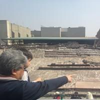 New Slideshow A father shows his son the Templo Mayor in the Centro Histórico of Mexico City. Dan Stuart