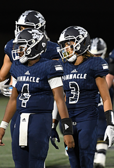 The COVID-19 pandemic has caused havoc with high school football team's ability to practice and has led to some surprising blowouts. Traditional powerhouse Pinnacle High lost 64-0 to Chandler.