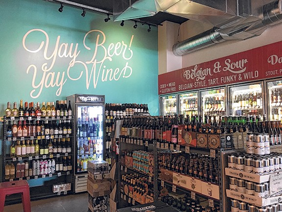Tap & Bottle North recently opened its doors and has already found quite a few beer and wine lovers to supply on the north side of town.