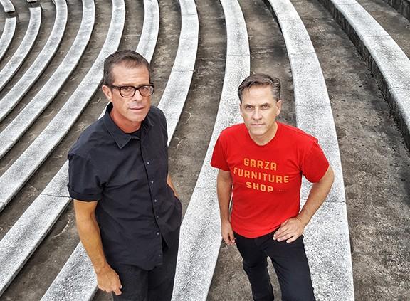John Convertino (left) and Joey Burns