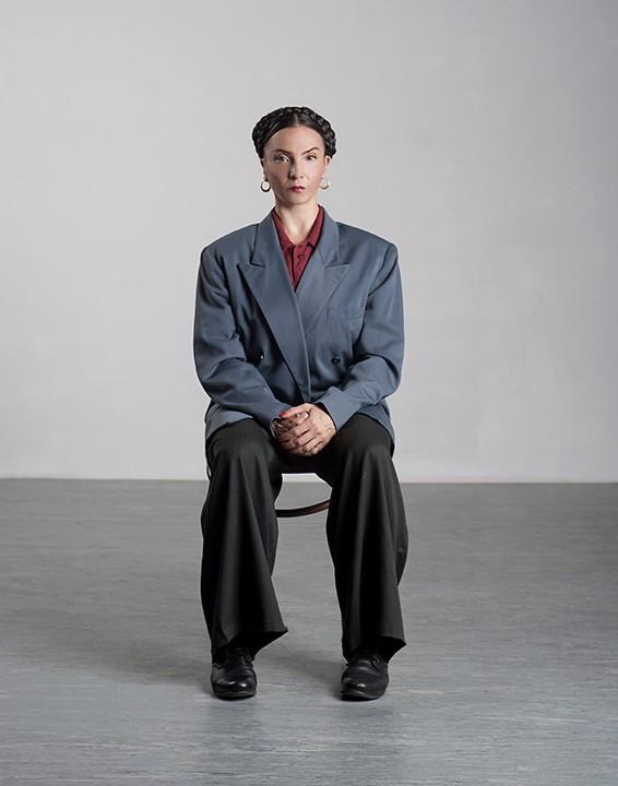Claire Hancock as Frida Kahlo