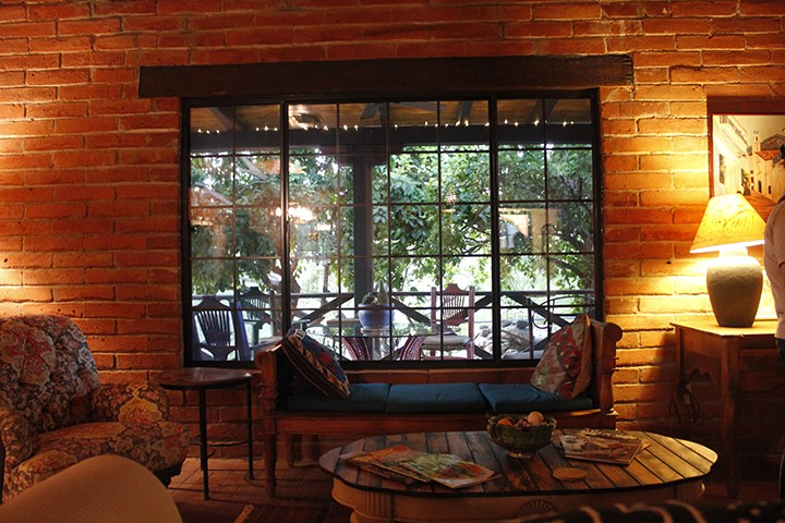 Aravaipa Farms is replete with citrus trees, cozy seating areas and homey touches that make it hard to leave.