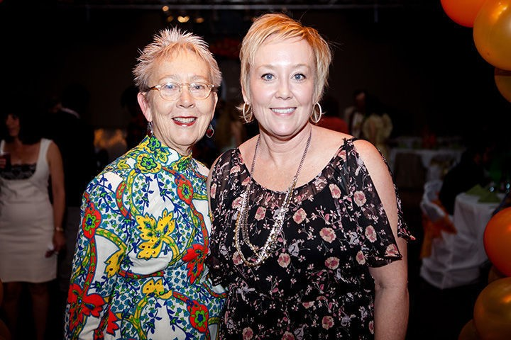 Kerstin and Rebecca Block during Buffalo's 40th anniversary celebration. - BUFFALO EXCHANGE