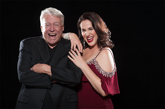 Hot Stuff: Jeff Haskell and Katherine Byrnes are among the performers in Invisible Theatre's Sizzling Summer Sound series.