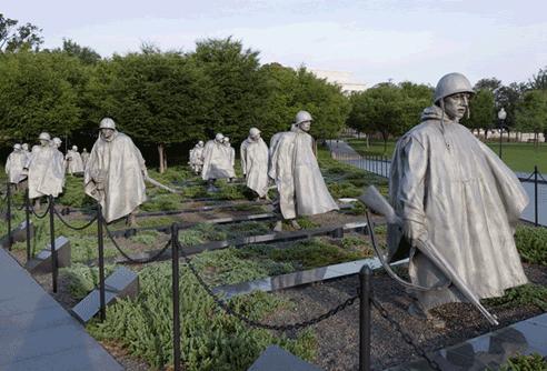 KOREAN WAR VETERANS MEMORIAL WEBSITE