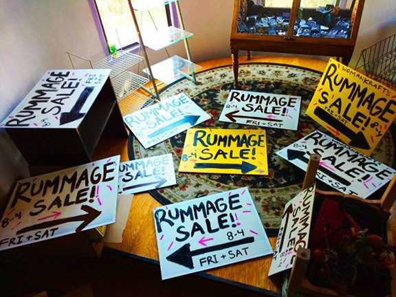 WomanKraft Rummage Sale - COURTESY
