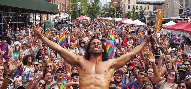 Johnathan Celestin is headlining this year's Pride celebration.