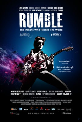 An outdoor screening of RUMBLE, a 2017 feature documentary about the role of Native Americans in popular music history will be shown at Tucson Meet Yourself on Saturday, Oct. 13 at 7 p.m. - THE LOFT CINEMA