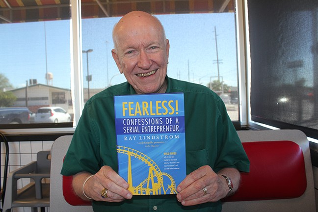 """Serial entrepreneur Ray Lindstrom: """"I'm drawn to doing the ridiculous."""""""
