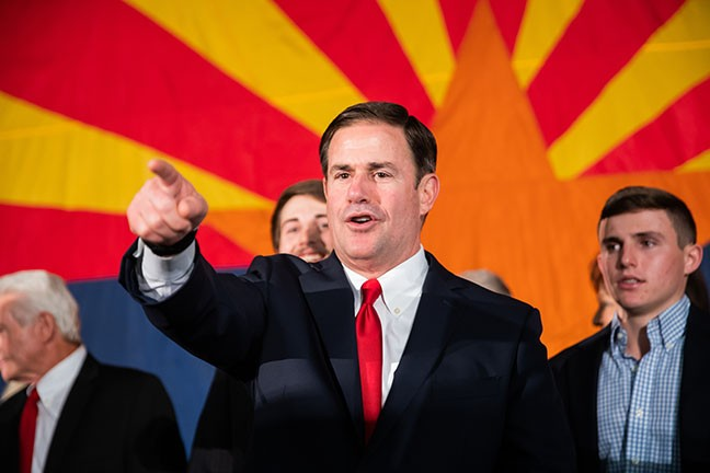 Gov. Doug Ducey will make sure things are fine, at least until he's out of office.