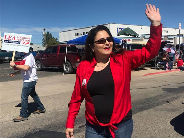 Republican Lea Márquez-Peterson has a new gig—if she can keep it.