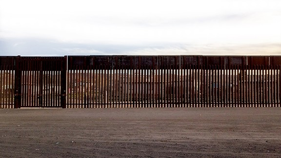 The border fence - COURTESY PHOTO