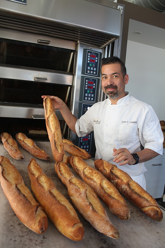 """Barrio Bread owner Don Guerra: """"I want to replace some of today's commodity flours and replace them with local grains."""""""