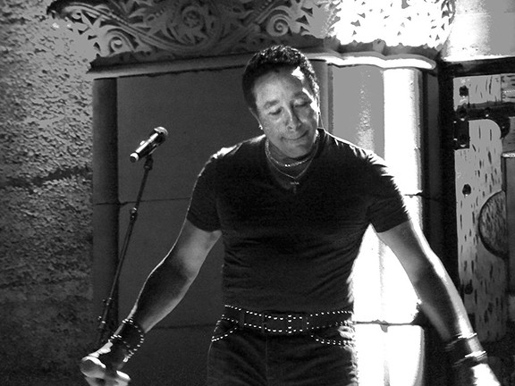Smokey Robinson performing on June 28, 2013, at the Mountain Winery in Saratoga, California