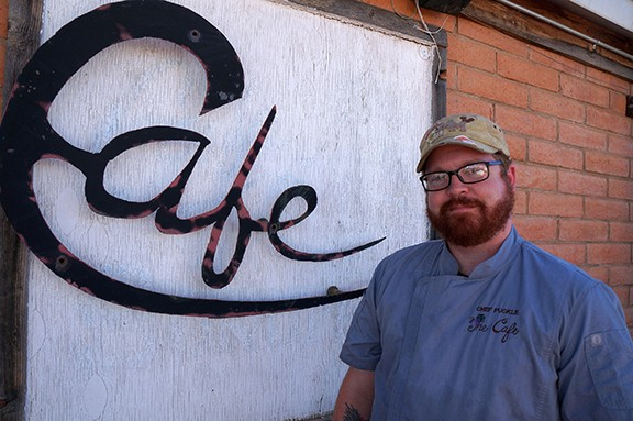 Chef and owner Adam Puckle