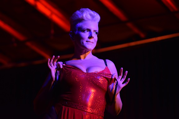 Lola Torch performs for the audience of 191 Toole, in the REVEAL show,  October 18.