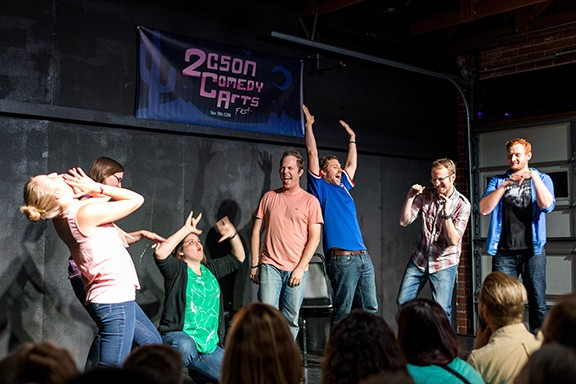 Tucson Improv Movement (TIM) performs five different shows on Friday and Saturday, Jan. 31 and Feb. 1.