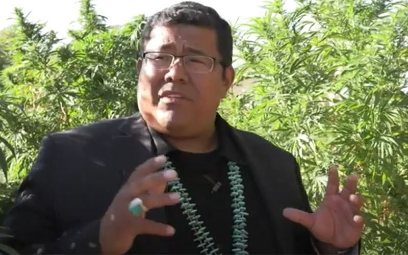 Dineh Benally operated a network of hemp farms on the Navajo Nation, but tribal and federal officials are now investigating his Navajo Gold farms for allegations of marijuana production, drug trafficking, labor and child labor law violations. - MARCELLA BAIETTO